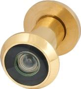 Глазок дверной, пластиковая оптика DV1, 16/35х60 GP Золото SKIN PACK