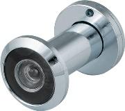 DVZ1, глазок, 16/200/35x60 (оптика пластик, угол обзора 200) CP Хром