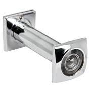Глазок дверной VIEWER4 DVQ 70х130/16 CP хром